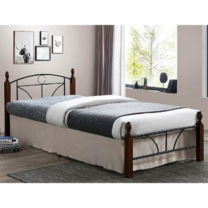 Κρεβάτι διπλό ROMINA, διαστ. στρώματος 150x200εκ.