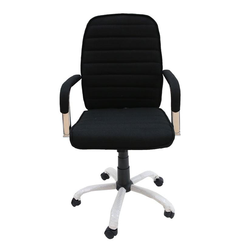 Πολυθρόνα γραφείου εργασίας σχ. ABSOLUTE με μπράτσα, χρ. μαύρο Home Plus 01.01.0948