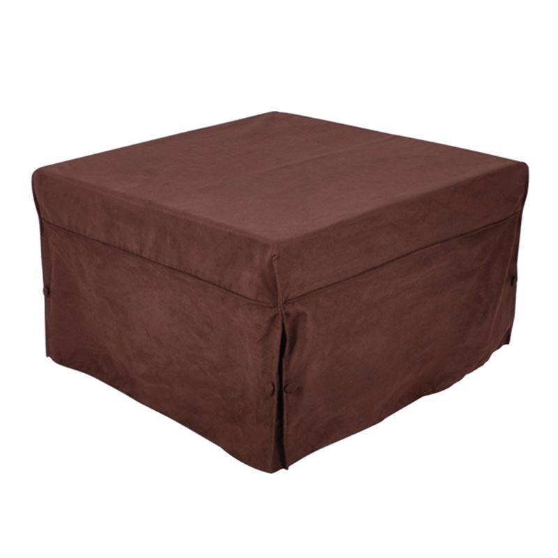 LOGAN Σκαμπώ-Κρεβάτι Ύφασμα Σκ.Καφέ